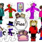 We all love em'~ Snow Days are a time to celebrate for that much needed break!  Here's a set of graphics for your files for you to enjoy for free t...
