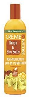 Creme of Nature Mango & Shea Butter Ultra Moisturizing Leave-in Conditioner, Ounce Mango, Hair Scalp, Leave In Conditioner, New Fragrances, Conditioning, Food, Amp, Products, Natural Hair Journey