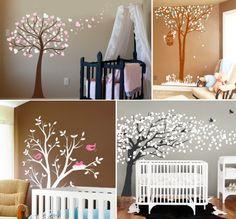 Adesivos de parede: decorando o quarto do bebê de diferentes formas | O Blog da Sofia