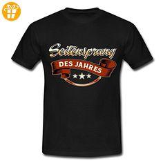 Seitensprung Des Jahres RAHMENLOS Geschenk Männer T-Shirt von Spreadshirt®, 3XL, Schwarz - Shirts zum 30 geburtstag (*Partner-Link)