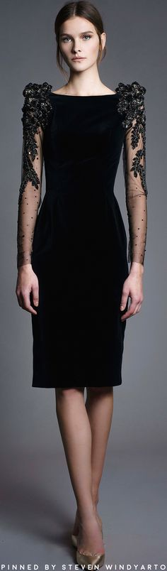 Chana Marelus Fall 2017 Lookbook - Raven Gown