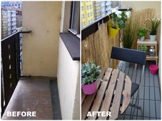 what we did with our small balcony... #balcony