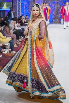 PFW Latest Zainab Chottani 2014 Collection