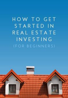 Learn how to get started in Real Estate Investing. More Info @ http://www.startwithprofits.com investment, investing