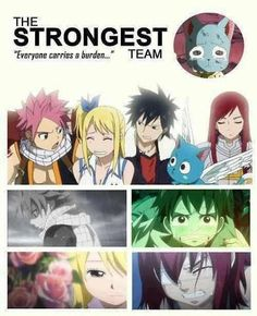 Fairy Tail! the strongest team...