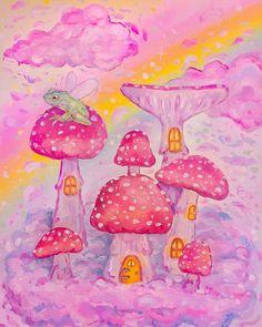 Pretty Art, Cute Art, Pinturas Art Deco, Hippie Painting, Hippie Wallpaper, Poster Prints, Art Prints, Posters, Hippie Art