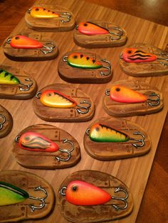 Fishing Lures   Cookie Connection