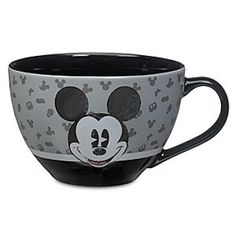 Disney Mickey Mouse Cappuccino Mug | Disney StoreMickey Mouse Cappuccino Mug - Pour some magic into your morning with this marvelous Mickey Mouse cappuccino mug! Each sip is so much sweeter when it's with cute company.