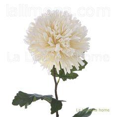 Flores artificiales. Flor artificial dendrathema beige 73