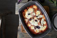 Parmigiana di melanzane Mozzarella, Mashed Potatoes, Cauliflower, Vegetables, Ethnic Recipes, Food, Whipped Potatoes, Smash Potatoes, Cauliflowers