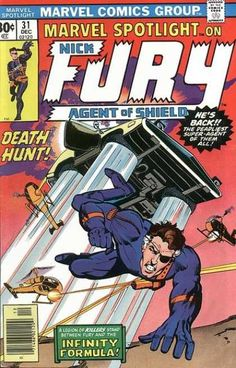 MARVEL SPOTLIGHT 31 NICK FURY BRONZE AGE MARVEL COMICS