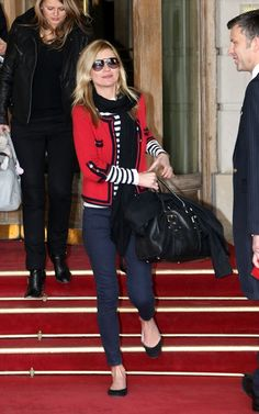 Kate Moss Out in Paris March 10 2010