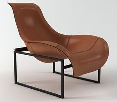 B & B Italia Mart Lounge chairs computer generated model. Designed by Antonio Citterio. Produced by Design Connected. Vintage Furniture Design, Classic Furniture, Furniture Styles, B&b Furniture, Leather Furniture, Swivel Dining Chairs, Small Swivel Chair, High Design, Wrought Iron Patio Chairs
