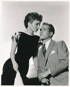 "Ann Blyth and Paul Newman in ""The Helen Morgan Story"" (1957) | via Facebook"