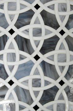 Glass mosaic - modern - kitchen tile - los angeles - Filmore Clark