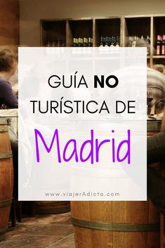 Guía no turística de Madrid con la información que necesitas para conocer Madrid de verdad. #viaje #madrid #guia Best Hotels In Madrid, Madrid Travel, Eurotrip, Spain Travel, Trip Planning, Travel Tips, Places To Go, Around The Worlds, How To Plan