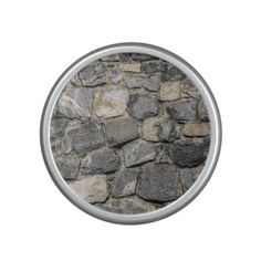 Old stone wall texture bluetooth speaker