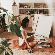 Easy Home DIY projects projekte fotos, Easy Home DIY projects Fotografia Retro, Mawa Design, Artist Aesthetic, Aesthetic Plants, Aesthetic Drawing, Aesthetic Girl, Art Hoe, Art Studios, In This Moment