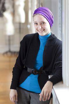 Karis Fox, B.F.A. fashion student, Madison, Georgia  http://www.scad.edu/fashionshow/  #SCADFashion