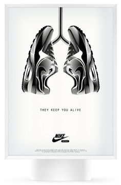 They Keep You Alive / Nike shoes advertising