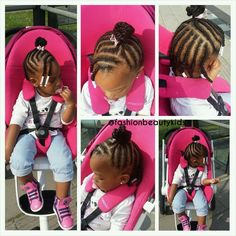 Little Girls Natural Hairstyles, Toddler Braided Hairstyles, Toddler Braids, Kids Curly Hairstyles, Baby Girl Hairstyles, Princess Hairstyles, Braids For Kids, Girls Braids, Infant Hairstyles