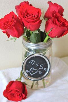 DIY Mason Jar Vases | HelloNatural.co