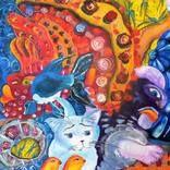 ANNO 1856 Painting by Tatyana Murova | Saatchi Art Illustration Art Drawing, Art Drawings, Original Art, Original Paintings, Animal Fashion, Love Painting, Animal Paintings, Buy Art, Saatchi Art