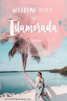 Looking for weekend getaway ideas? Islamorada is a perfect choice! Featuring some of the best beaches in Florida and super fun activities, you'll never run out of things to do in Islamorada! #Islamorada #Florida #SoFlo #VisitFlorida