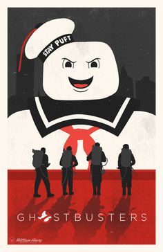 Ghostbusters Poster - Created by William Henry