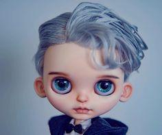 (•͈˽•͈)#Blythe #Blythedoll #customBlythe #noise #noisedoll #Blythecustom #doll