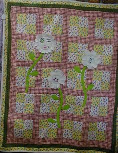 Silly Flowers quilt