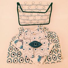 It's the perfect time for exchanging gifts. A wide range of baby goods and trinkets are available at our shop @alothmanfashion and online for the perfect gift. #ecru #ecruonline #baby #christmas #blockprint #toiletrybag #pajama