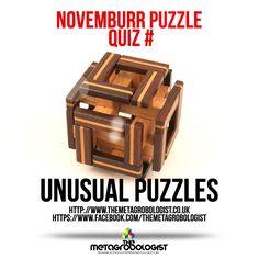 Do you know what this puzzle this?  #puzzle #followus #mechanicalpuzzle https://www.facebook.com/themetagrobologist