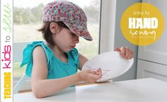 Teaching Kids to Sew: Intro to Hand Sewing.  Keep it simple and fun and start with the basics!  www.makeit-loveit.com