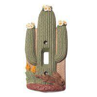 Check out the Vicki Lane Designs Southwest Cactus Single Switch Plate Cactus Bedroom, Southwest Home Decor, Cactus Light, Cactus Ceramic, Old Refrigerator, Cactus Decor, Vintage Room, Frame Crafts, Modern Retro