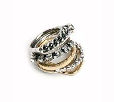 Iosselliani #rhinestone #rings