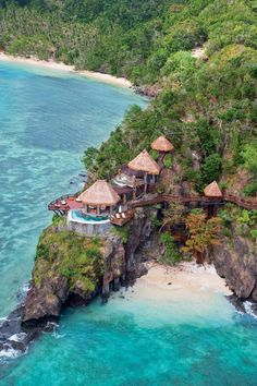 Island Houses, Fiji.  beach scenery. travel. traveling. vacay. vacation. holiday. resorts. hotels. villas. honeymoon. relaxation. get away