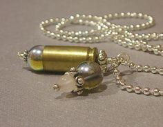 bullet casing pendant