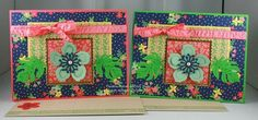 Botanical Blooms stamp set and Affectionately Yours Specialty Designer Series Paper from Stampin' Up! – Original design by Cindy Major