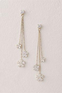 Raw Geode Earrings, Pastel Pink Geode Crystals in French Ear Wires, Amore Gift, Birthday Earrings for Girlfriend, Daughter in Law Present - Fine Jewelry Ideas - Dazzle Daisy Earrings – BHLDN - Ear Jewelry, Cute Jewelry, Bridal Jewelry, Jewelry Making, Jewelry Ideas, Jewelry For Women, Jewellery Supplies, Prom Jewelry, Jewellery Earrings