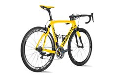 This Pinarello yellow road bike is the truth!  One of my favorites.