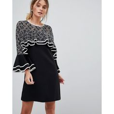 Cold Shoulder Lace Midi Dress - Navy Liquorish 2018 Unisex For Sale Cheap Professional From China Sale Online Discount Footaction Outlet Best Store To Get tWhRwdSxn
