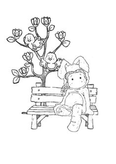 Easter Coloring Pictures, Colouring Pics, Doodle Coloring, Adult Coloring Pages, Coloring Books, Magnolia Colors, Easter Art, Black And White Drawing, Magnolias