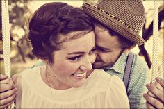 Vintage Butterfly Engagement Session « Spearmint Wedding