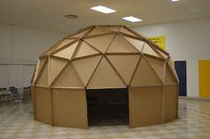 Building a Cardboard Planetarium: Final assembly