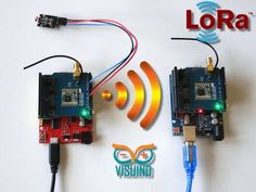 Send light sensor data over long distance with RFM95W/RFM98W Makerfabs LoRa Shields. Quick and easy!  By Boian Mitov.
