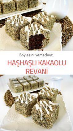 Videolu anlatım Haşhaşlı Kakaolu Revani (videolu) #tatlıtarifleri #revani #haşhaşlırevani #nefisyemektarifleri