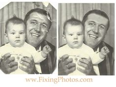 We're The Mr. Clean of photo repair & restoration. Photo stains fear us. http://www.fixingphotos.com #photoretouching #photogifts