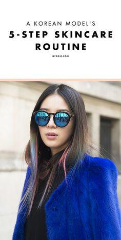 Korean model Irene Kim shares her 5-step skincare routine