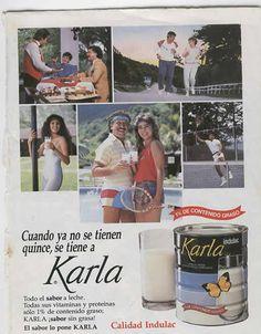 PUBLICIDAD DE LECHE KARLA